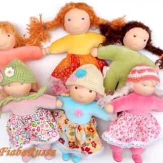 Waldorf and fabric doll